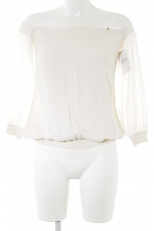 Strenesse Gabriele Strehle Seidenbluse creme Casual-Look