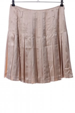 Strenesse Gabriele Strehle Silk Skirt bronze-colored casual look