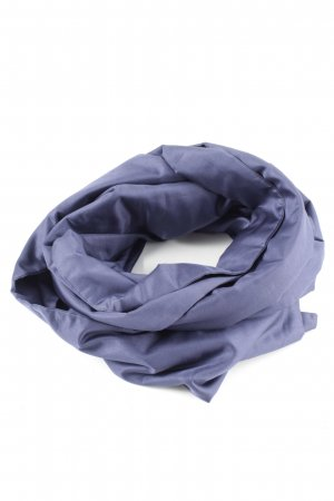 Strenesse Gabriele Strehle Bufanda de seda azul look casual
