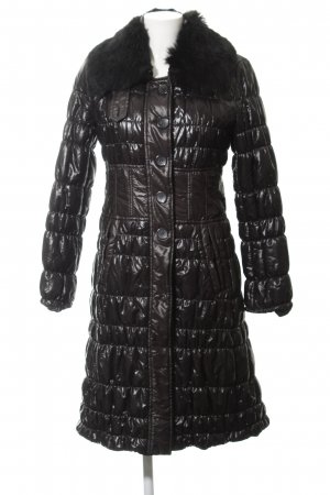Strenesse Gabriele Strehle Quilted Coat black simple style