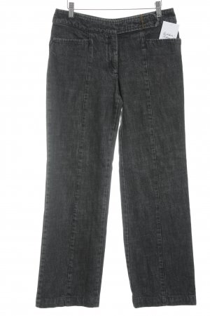 Strenesse Gabriele Strehle Straight-Leg Jeans dunkelgrau-grau Jeans-Optik
