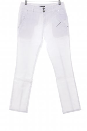 Strenesse Gabriele Strehle Straight-Leg Jeans weiß Casual-Look