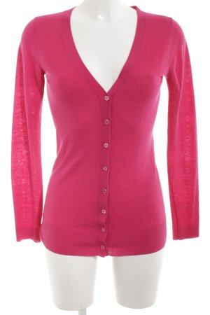 Strenesse Gabriele Strehle Strickjacke pink Business-Look