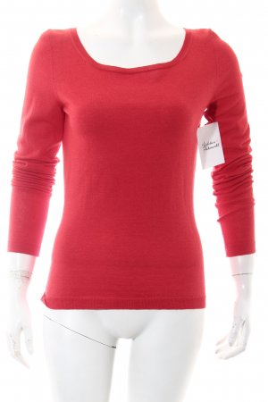 Strenesse Gabriele Strehle Strickpullover rot Casual-Look