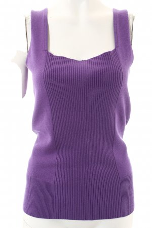 Strenesse Gabriele Strehle Knitted Top lilac simple style