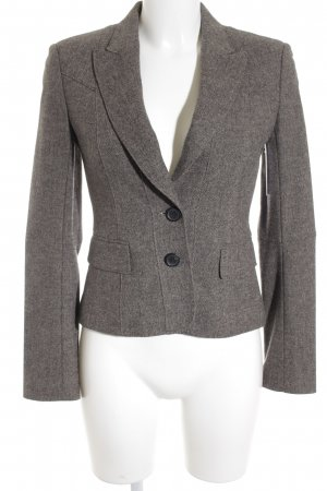 Strenesse Gabriele Strehle Sweat Blazer silver-colored-grey business style