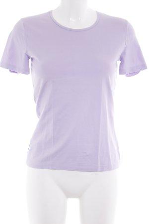 Strenesse Gabriele Strehle T-Shirt blasslila schlichter Stil