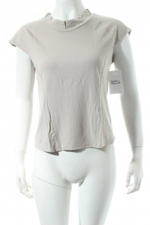 Strenesse Gabriele Strehle T-Shirt graubraun schlichter Stil
