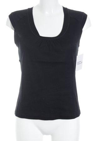 Strenesse Gabriele Strehle T-Shirt schwarz Casual-Look
