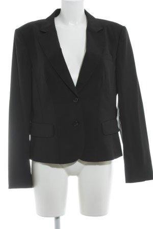 Strenesse Gabriele Strehle Tweed blazer zwart zakelijke stijl