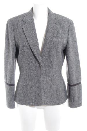 Strenesse Gabriele Strehle Tweedblazer schwarz-weiß Zackenmuster Business-Look