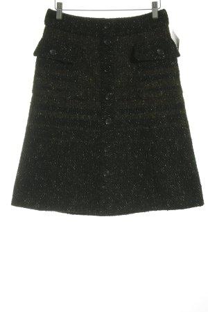 Strenesse Gabriele Strehle Jupe en tweed moucheté élégant