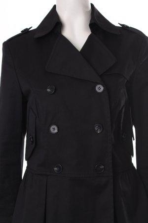 Strenesse Gabriele Strehle Übergangsjacke schwarz klassischer Stil