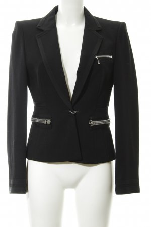 Strenesse Gabriele Strehle Unisex-Blazer schwarz Elegant