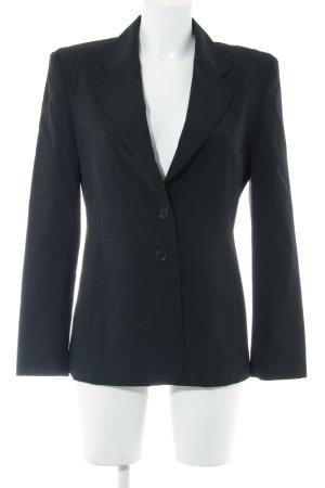 Strenesse Gabriele Strehle Blazer in lana nero stile professionale