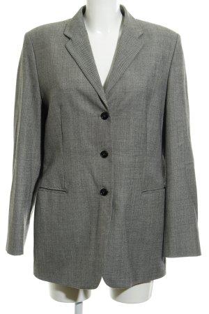 Strenesse Gabriele Strehle Blazer in lana nero-beige chiaro stile professionale