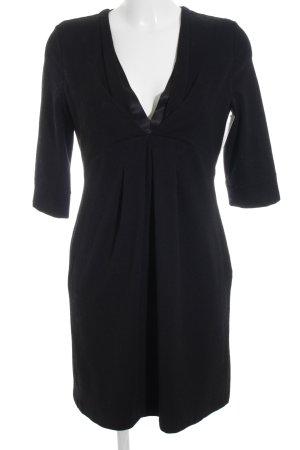 Strenesse Gabriele Strehle Vestito di lana nero elegante