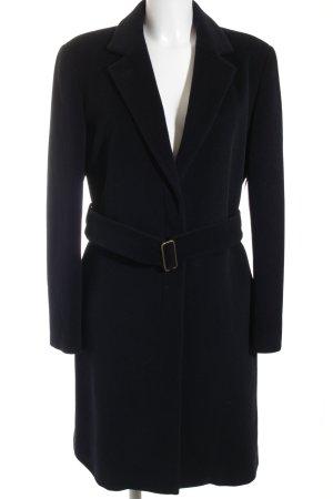 Strenesse Gabriele Strehle Abrigo de lana negro elegante