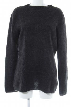 Strenesse Gabriele Strehle Wollpullover anthrazit Casual-Look