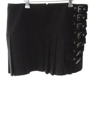 Strenesse Gabriele Strehle Wollen rok zwart extravagante stijl