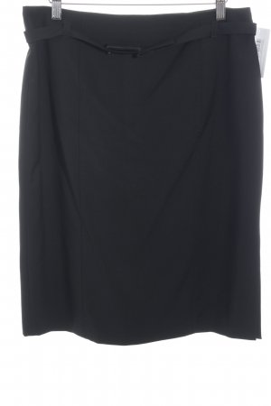 Strenesse Gabriele Strehle Wool Skirt black business style