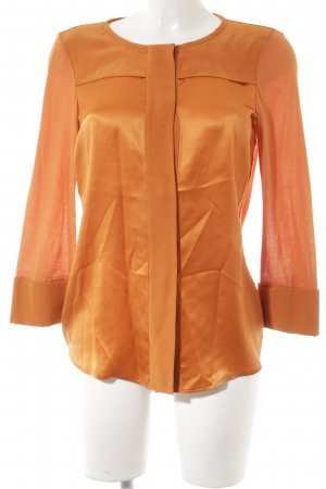 Strenesse Glanzbluse dunkelorange Casual-Look
