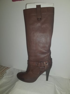 Strenesse High Heel Boots brown leather