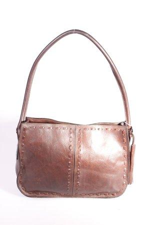 Strenesse Handtasche dunkelbraun klassischer Stil