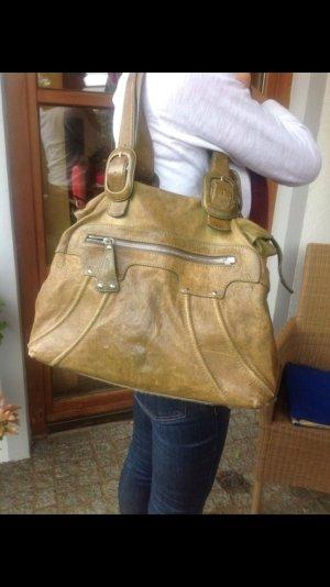 Strenesse Handtasche, Leder, Vintage