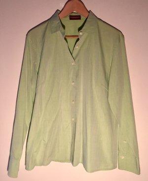 Strenesse Hemd-Bluse hellgrün sportlich-eleganter Stil