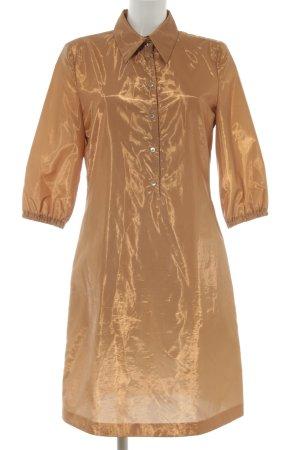 Strenesse Abito blusa camicia oro stile stravagante