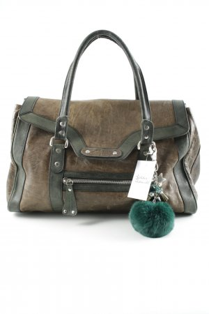 Strenesse Carry Bag grey brown-green grey casual look