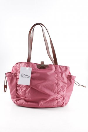 Strenesse Carry Bag raspberry-red-brown casual look