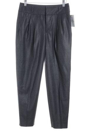 Strenesse Pantalon taille haute gris foncé élégant