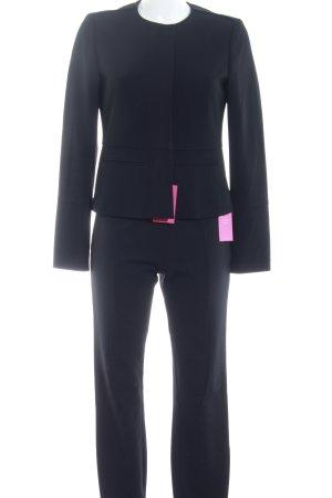 Strenesse Tailleur-pantalon noir style d'affaires