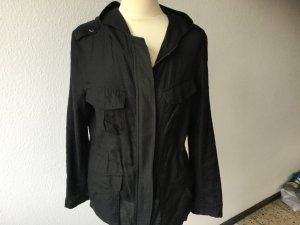 Strenesse Blouse Jacket black cotton
