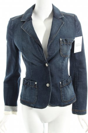 Strenesse Jeansblazer blau Casual-Look