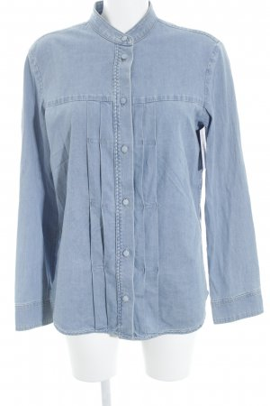 Strenesse Jeansbluse blau Casual-Look