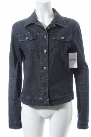 Strenesse Jeansjacke dunkelblau Washed-Optik