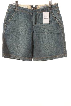 Strenesse Jeansshorts stahlblau