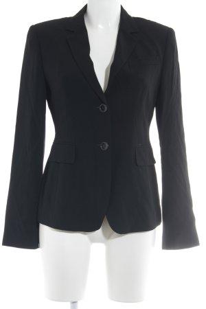 Strenesse Jerseyblazer schwarz-silberfarben Business-Look