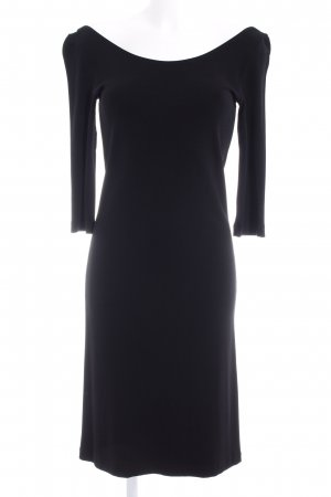 Strenesse Jerseykleid schwarz Business-Look