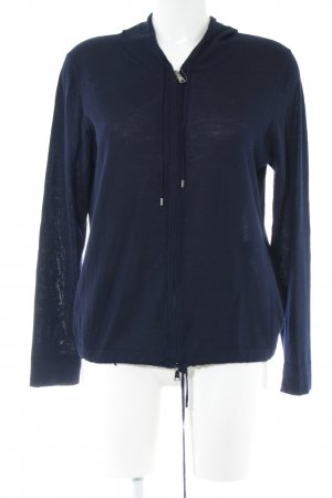 Strenesse Hooded Sweatshirt blue athletic style
