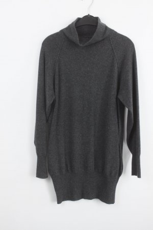 Strenesse Robe en maille tricotées gris anthracite cachemire