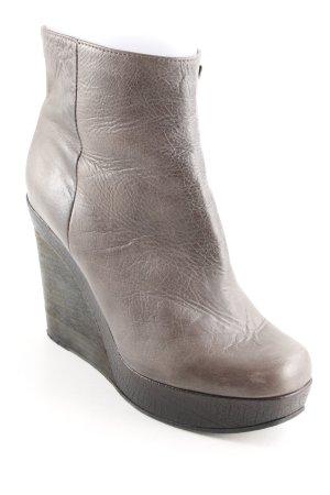 Strenesse Keil-Stiefeletten graubraun Casual-Look
