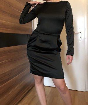 Strenesse Kleid Schwarz glänzend