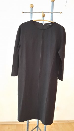 Strenesse vestido de globo negro tejido mezclado
