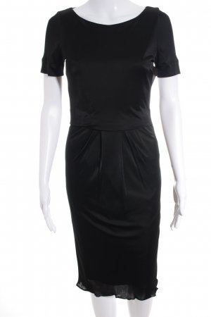 Strenesse Kurzarmkleid schwarz Elegant