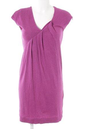 Strenesse Kurzarmkleid violett Casual-Look