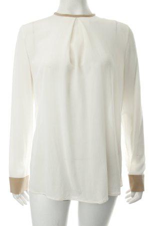 Strenesse Langarm-Bluse creme-beige